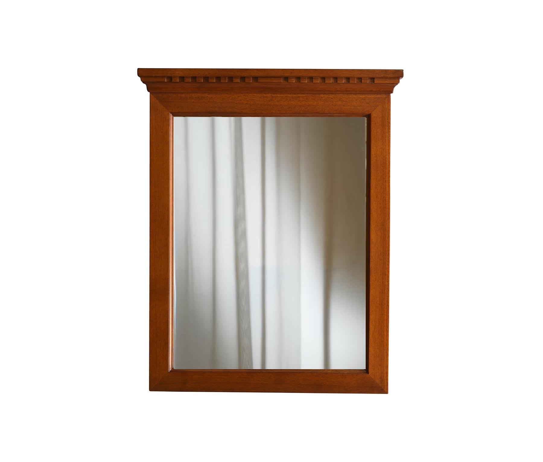 Outlet specchio irene noce abcmobili for Specchio noce